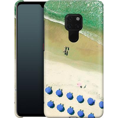Huawei Mate 20 Smartphone Huelle - Beach Umbrellas von Joy StClaire