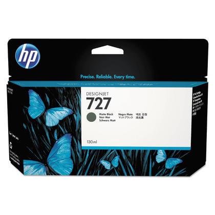 HP 727 B3P22A cartouche d'encre originale noire mat haute capacité 130ml