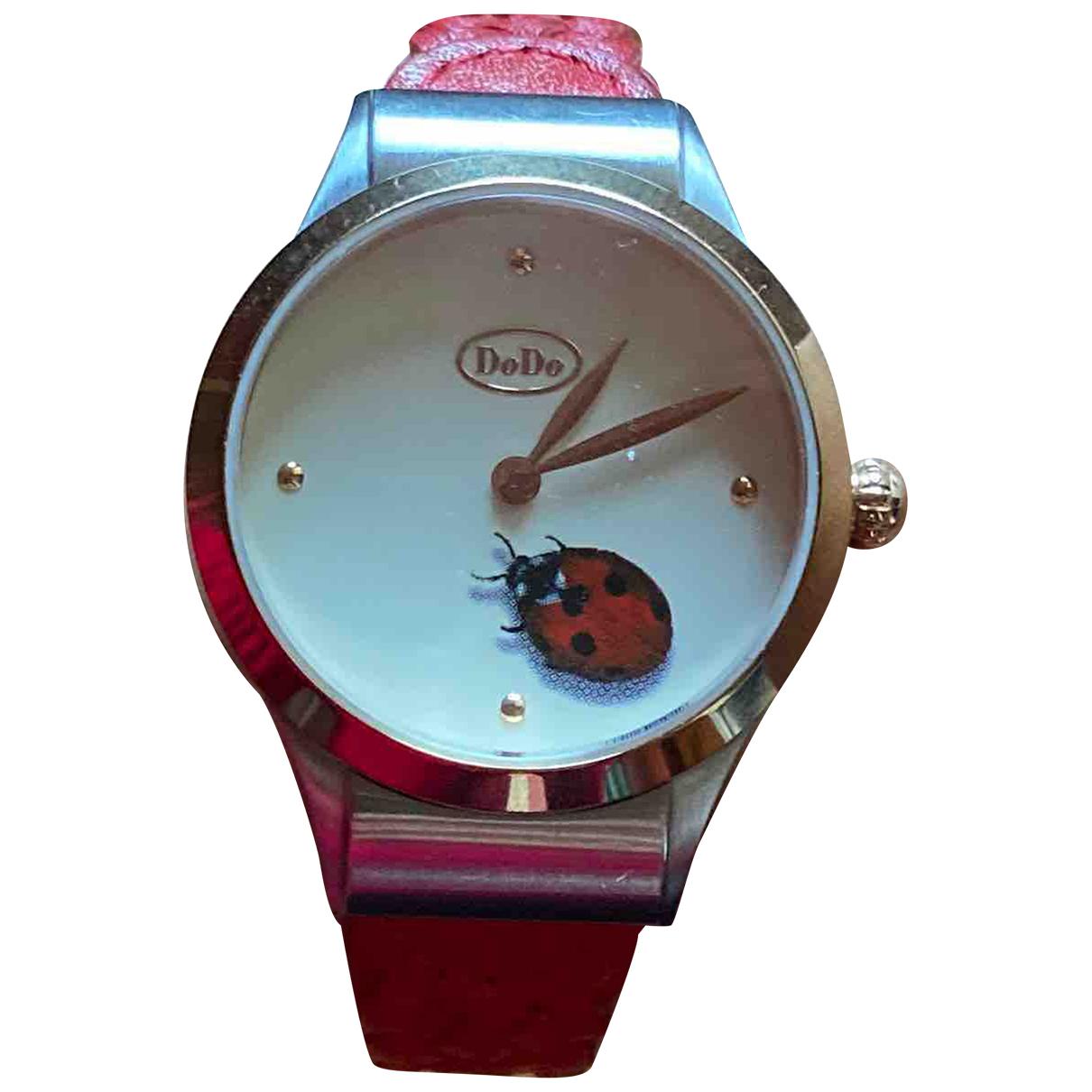 Dodo Pomellato - Montre   pour femme en acier - rouge