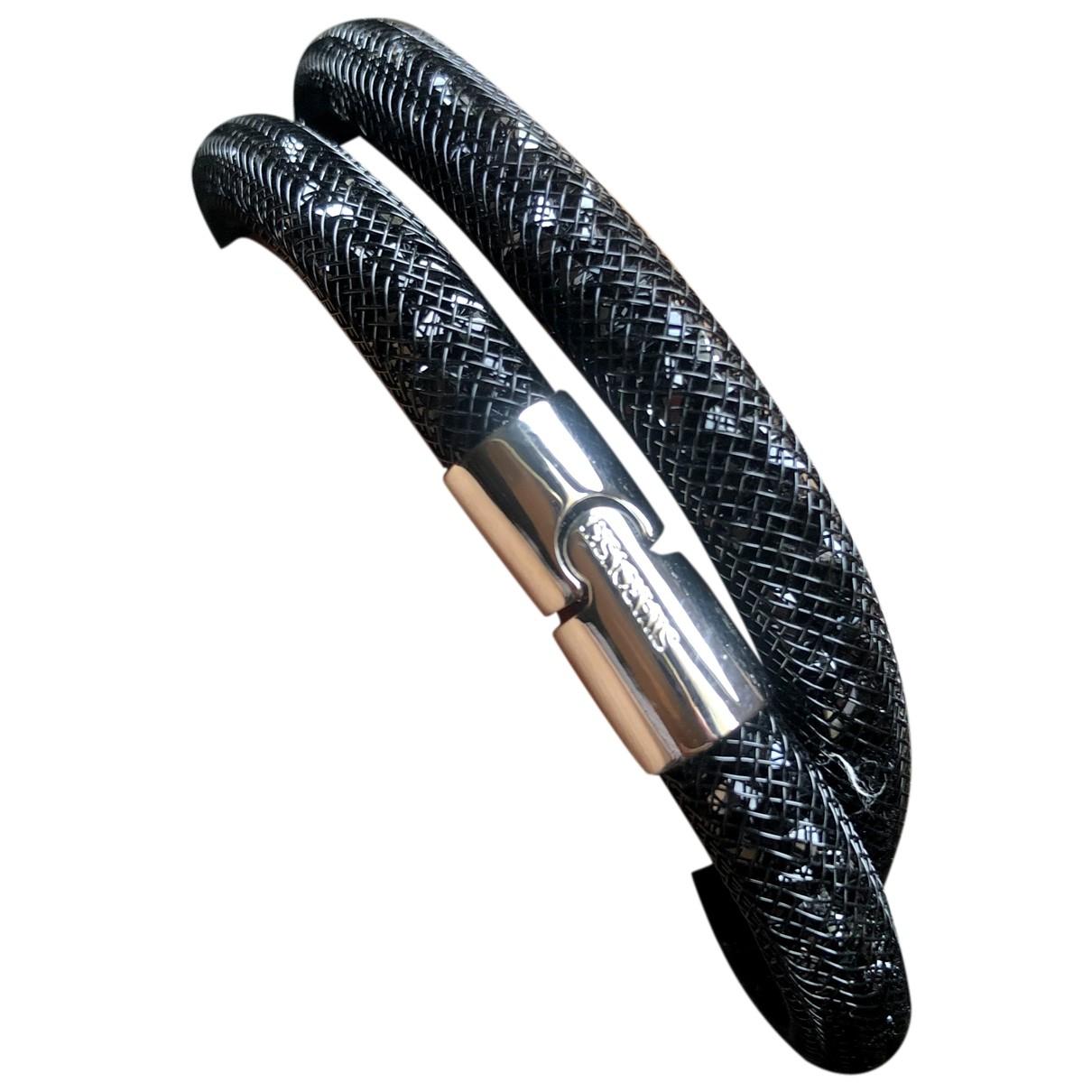 Swarovski - Bracelet Stardust pour femme en cristal - noir
