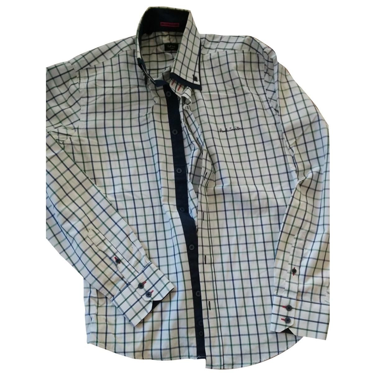 Paul Smith \N Multicolour Cotton Shirts for Men 42 EU (tour de cou / collar)