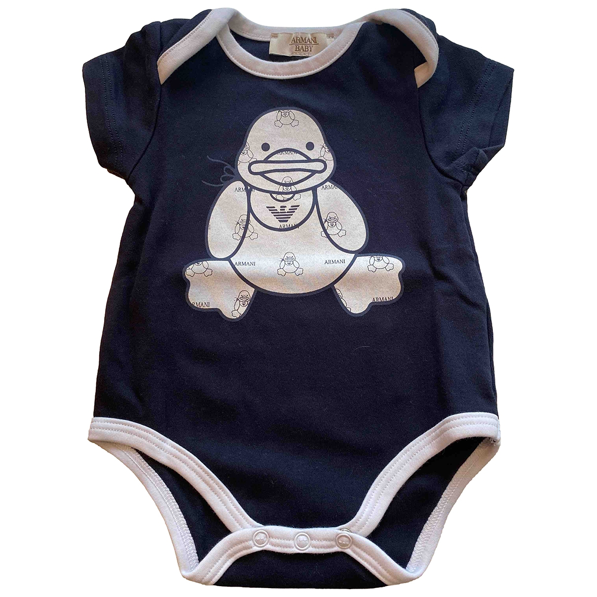 Armani Baby \N Blue Cotton Outfits for Kids 1 months - up to 55cm FR