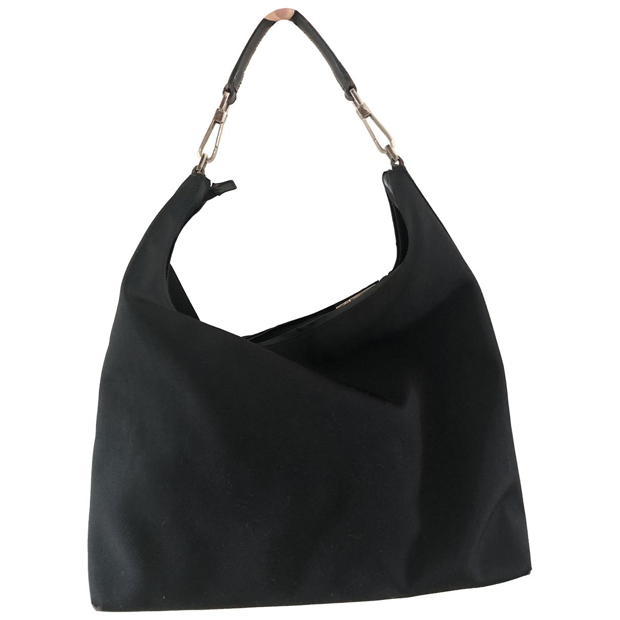 Gucci \N Handtasche in  Schwarz Synthetik