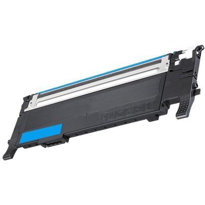 Compatible Samsung CLT-C407S Cyan Toner Cartridge - Economical Box