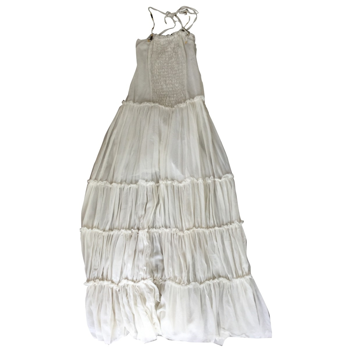 Elisabetta Franchi \N Kleid in  Gelb Seide