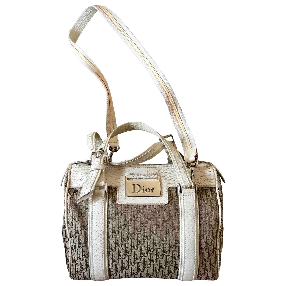 Dior Bowling Multicolour Python handbag for Women \N