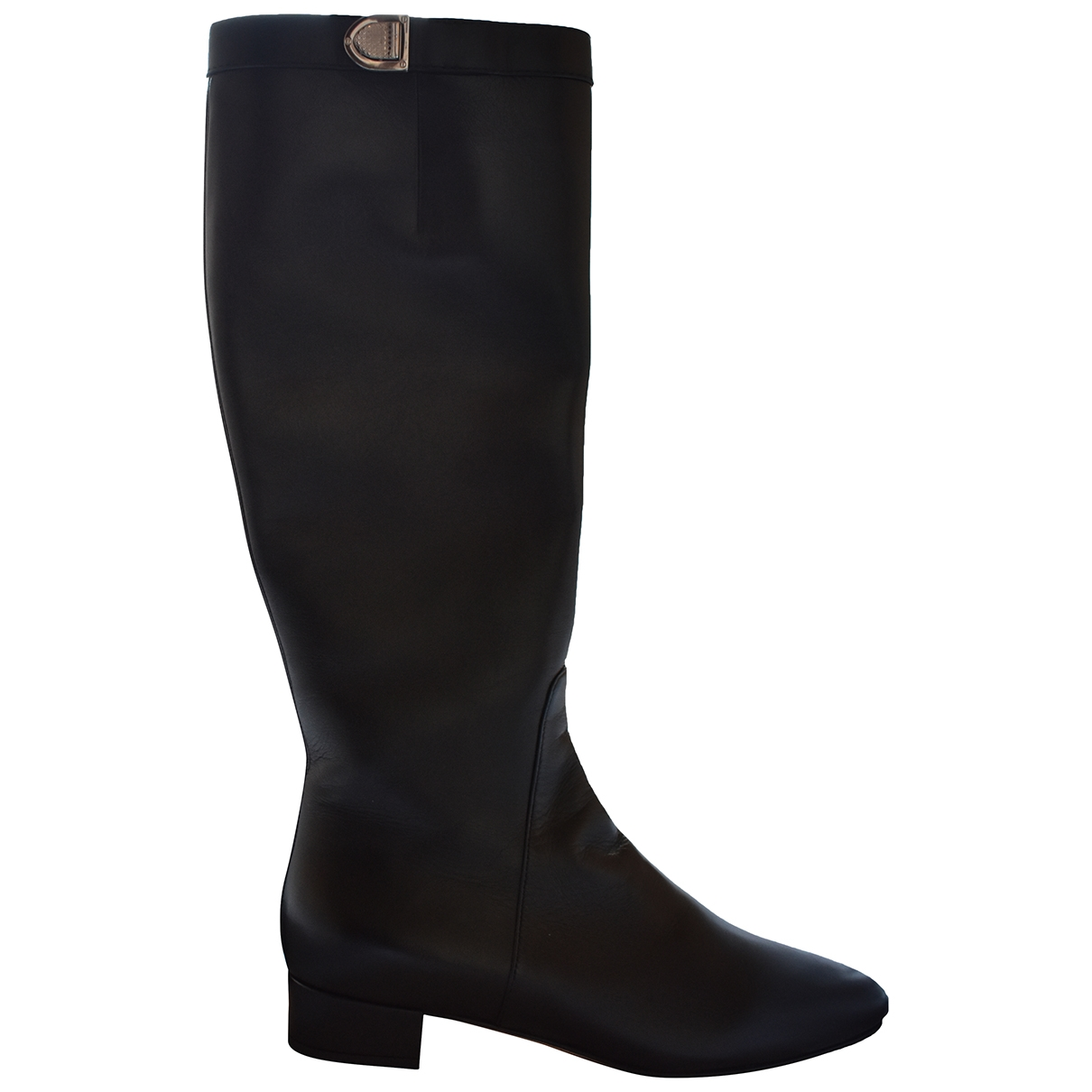 Dior \N Black Leather Boots for Women 37.5 EU