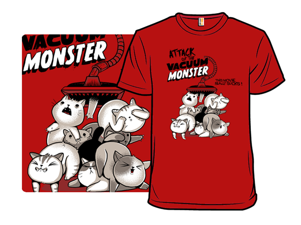 The Vacuum Monster T Shirt