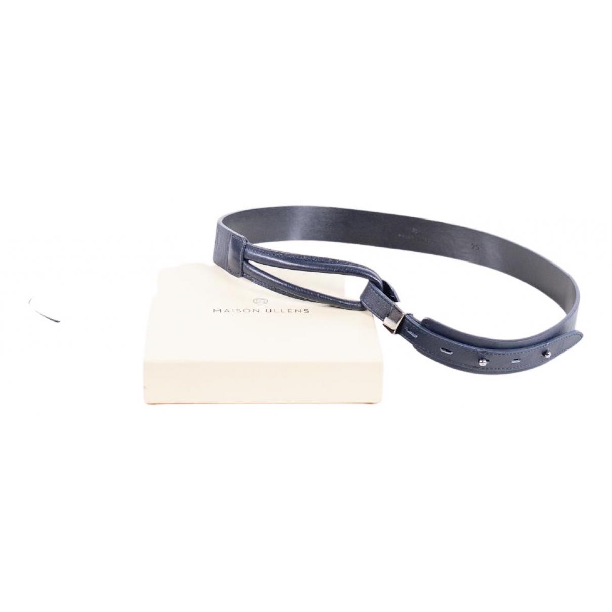 Cinturon de Cuero Maison Ullens