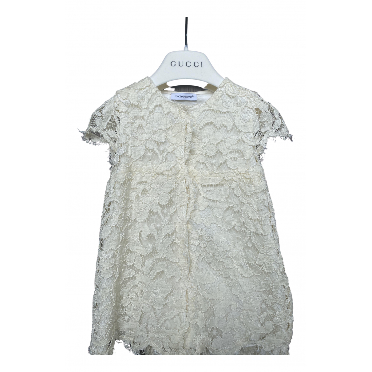 Dolce & Gabbana - Robe    pour enfant - beige