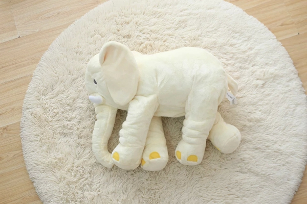 Soft And Skin-friendly Plush Large Long Nose Cotton Elephant Sleep Baby Pillow