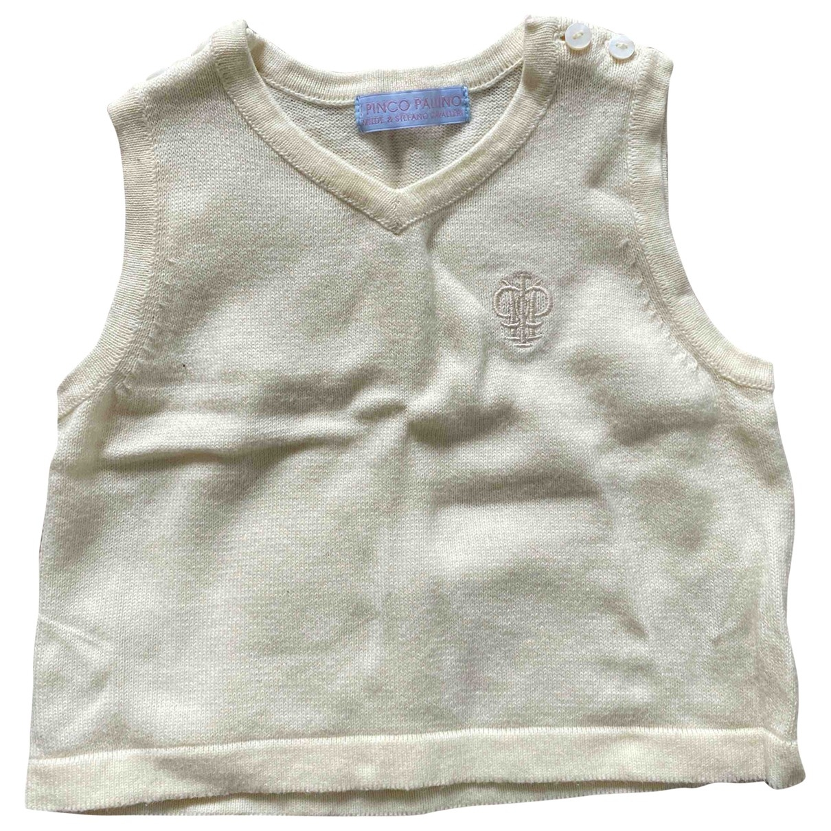 I Pinco Pallino \N Beige Cotton Knitwear for Kids 9 months - up to 71cm FR