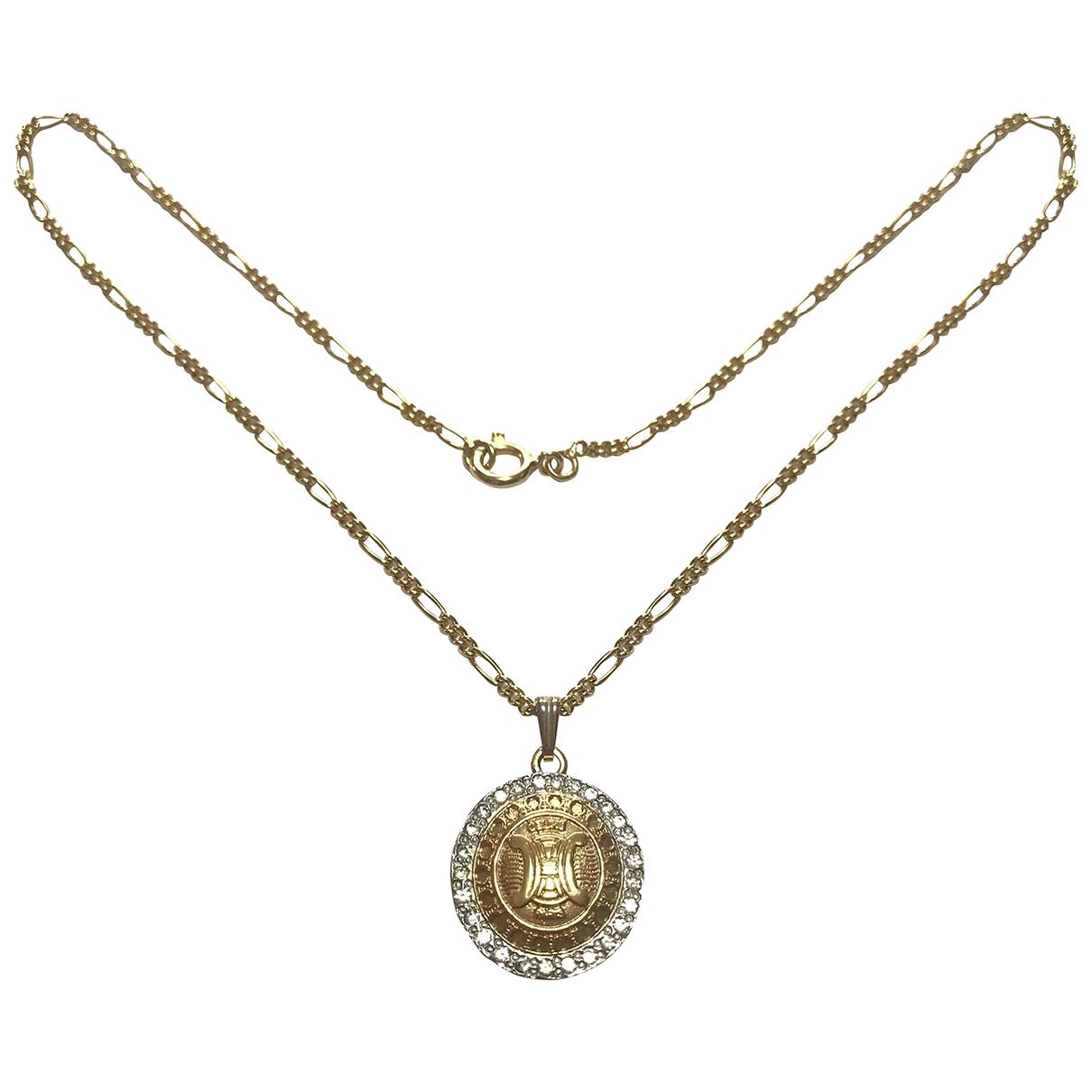 Celine \N Gold Metal necklace for Women \N
