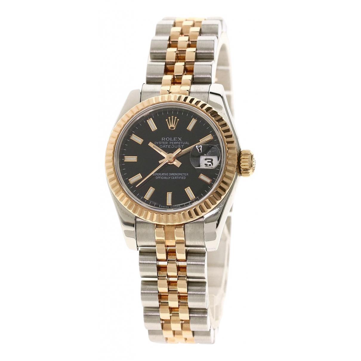 Rolex Lady DateJust 26mm Uhr in  Gold Gold und Stahl