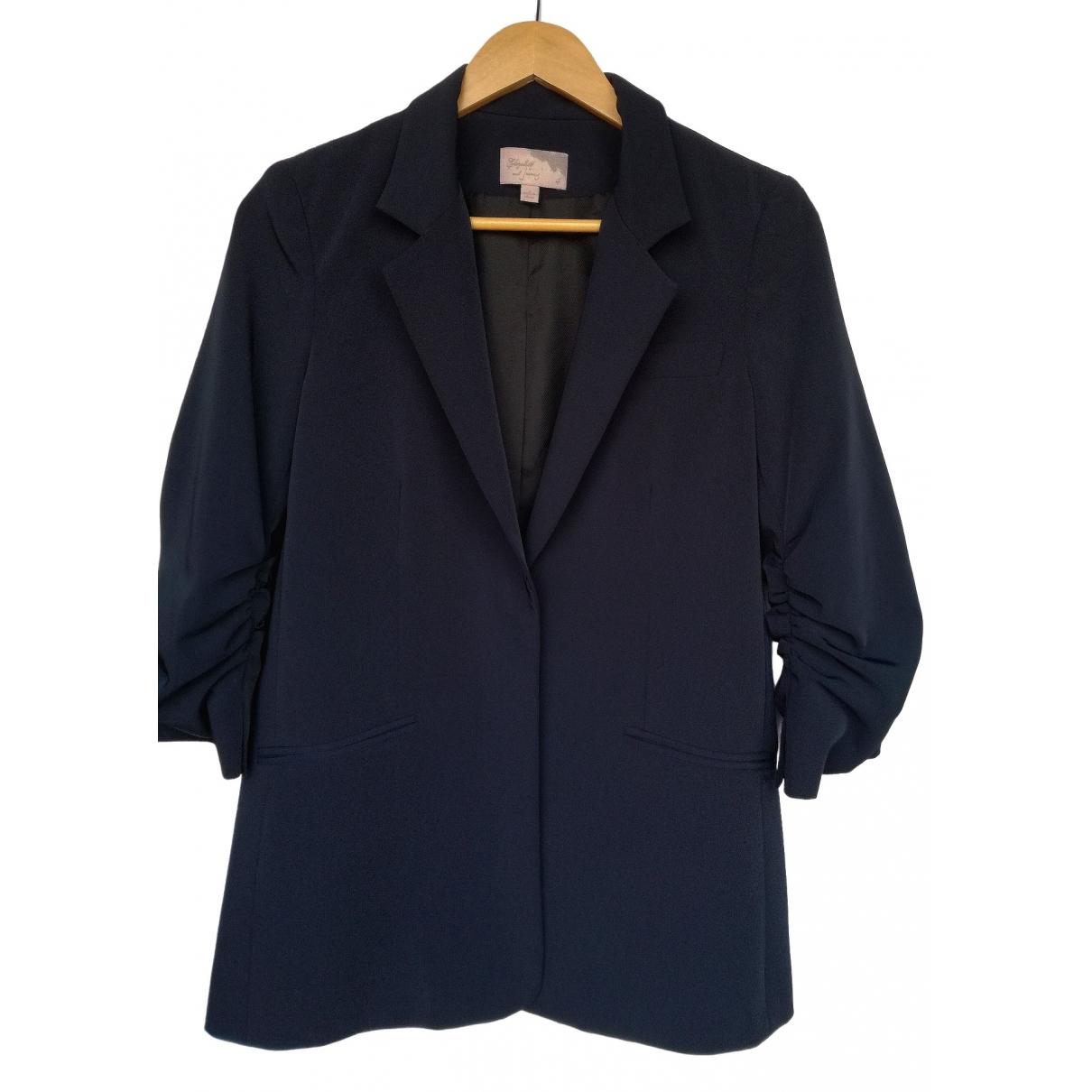 Elizabeth And James \N Navy jacket for Women 4 US