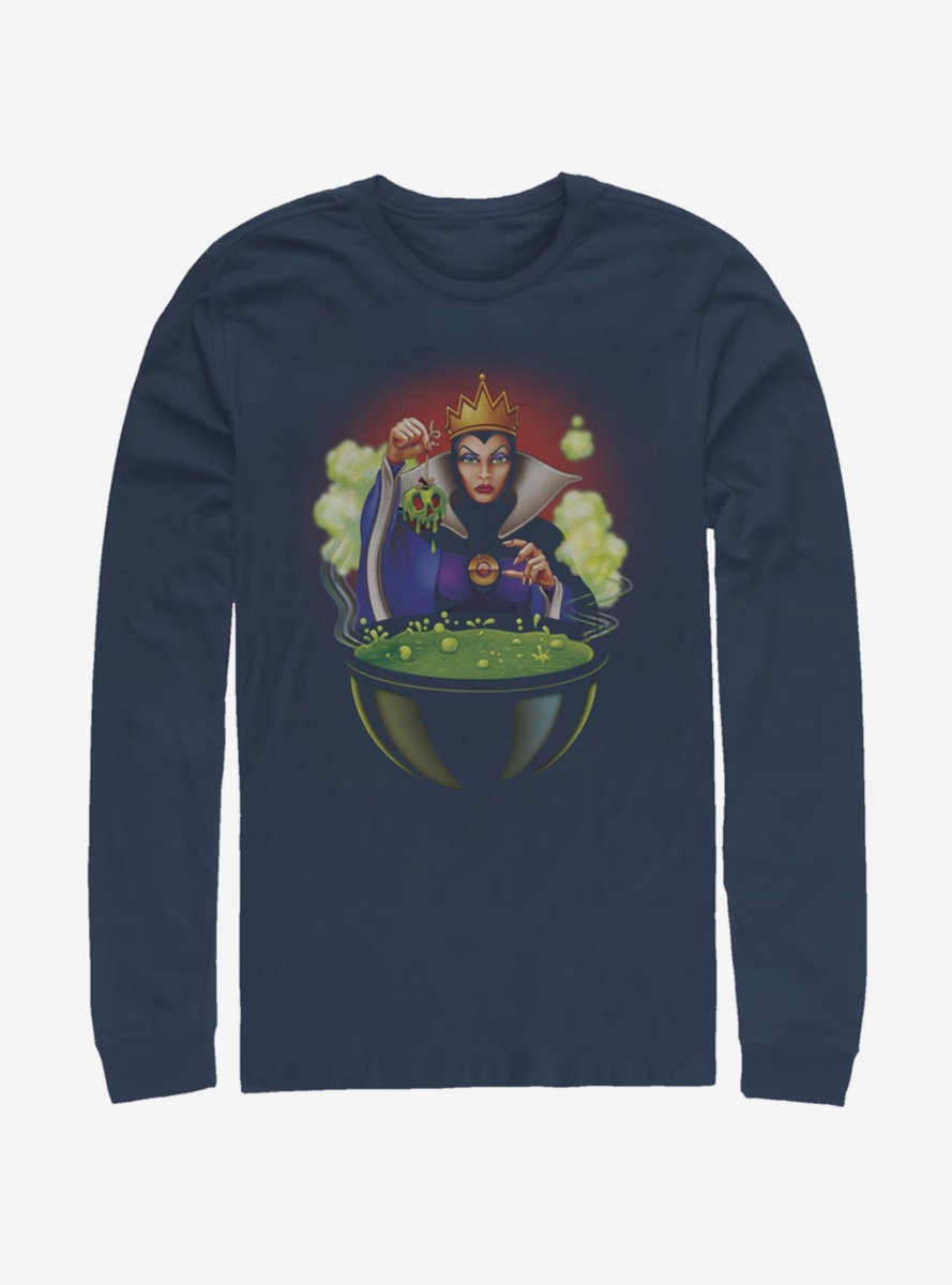 Disney Snow White And The Seven Dwarfs Evil Queen One Bite Long-Sleeve T-Shirt