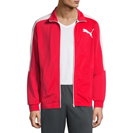 Puma Lightweight Track Jacket, Small , Red