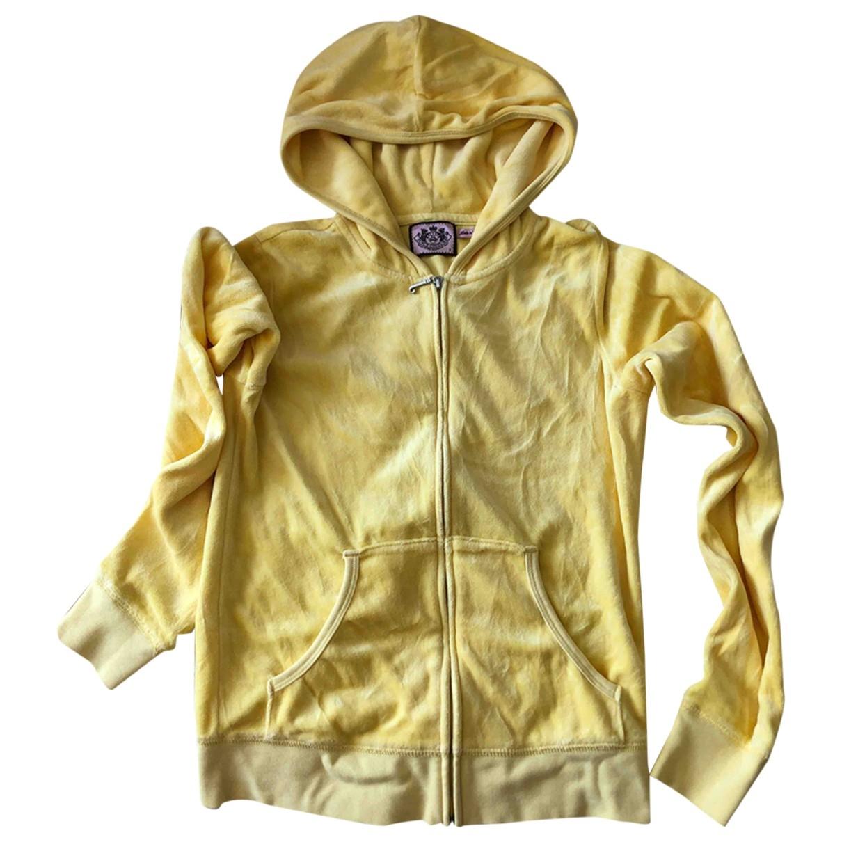 Juicy Couture - Veste   pour femme en coton - jaune