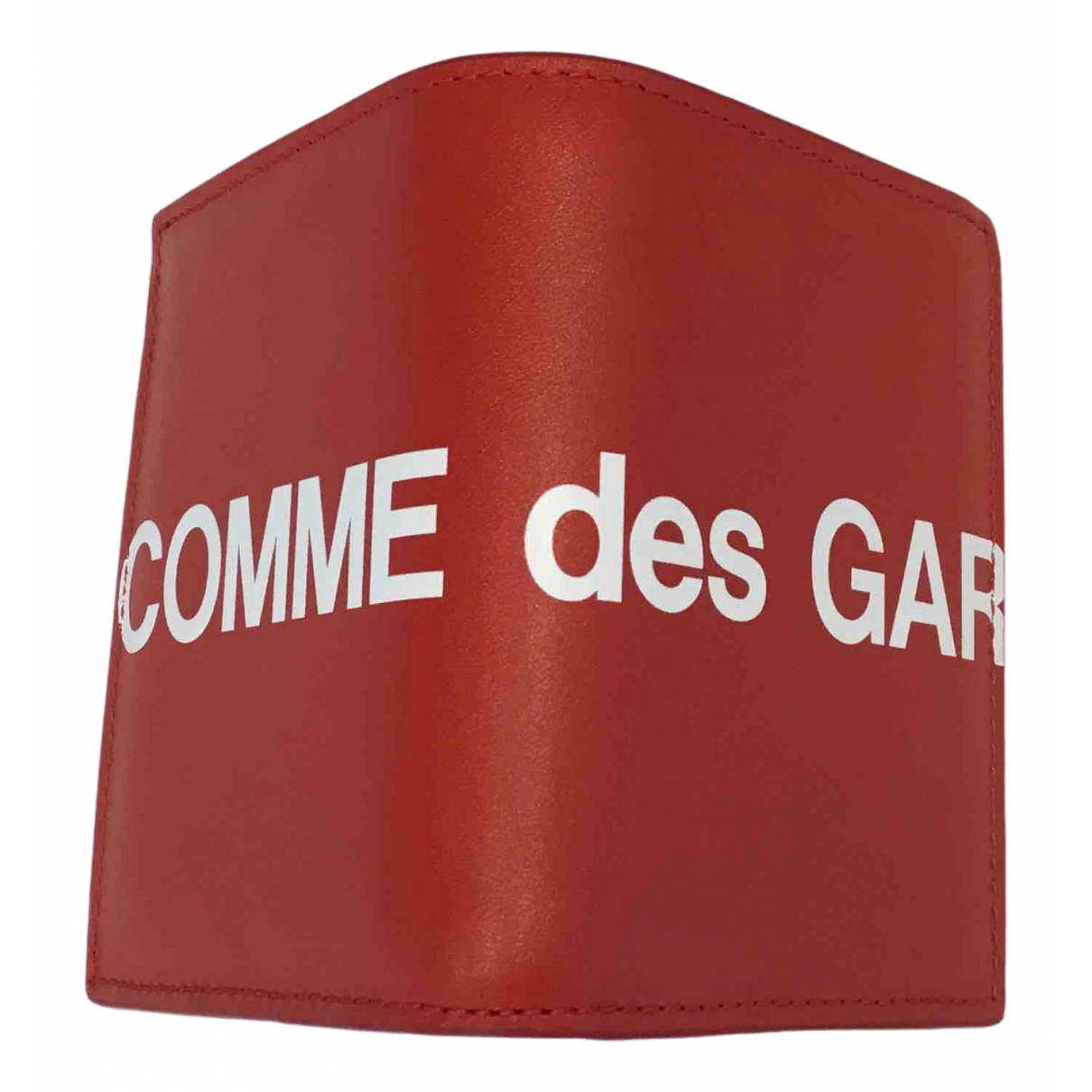 Comme Des Garcons N Red Leather Small bag, wallet & cases for Men N
