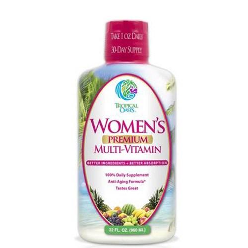 Women's Premium Multi-Vitamin 32 oz by Tropical Oasis