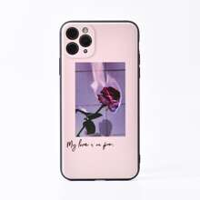 1 Stueck iPhone Huelle mit Rose Muster