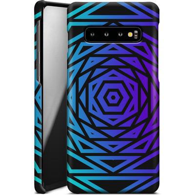 Samsung Galaxy S10 Smartphone Huelle - HEXAGON von Berlin Techno Collective
