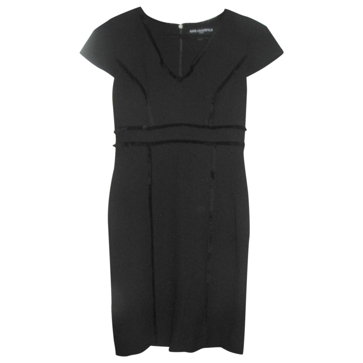 Karl Lagerfeld \N Black dress for Women 6 US