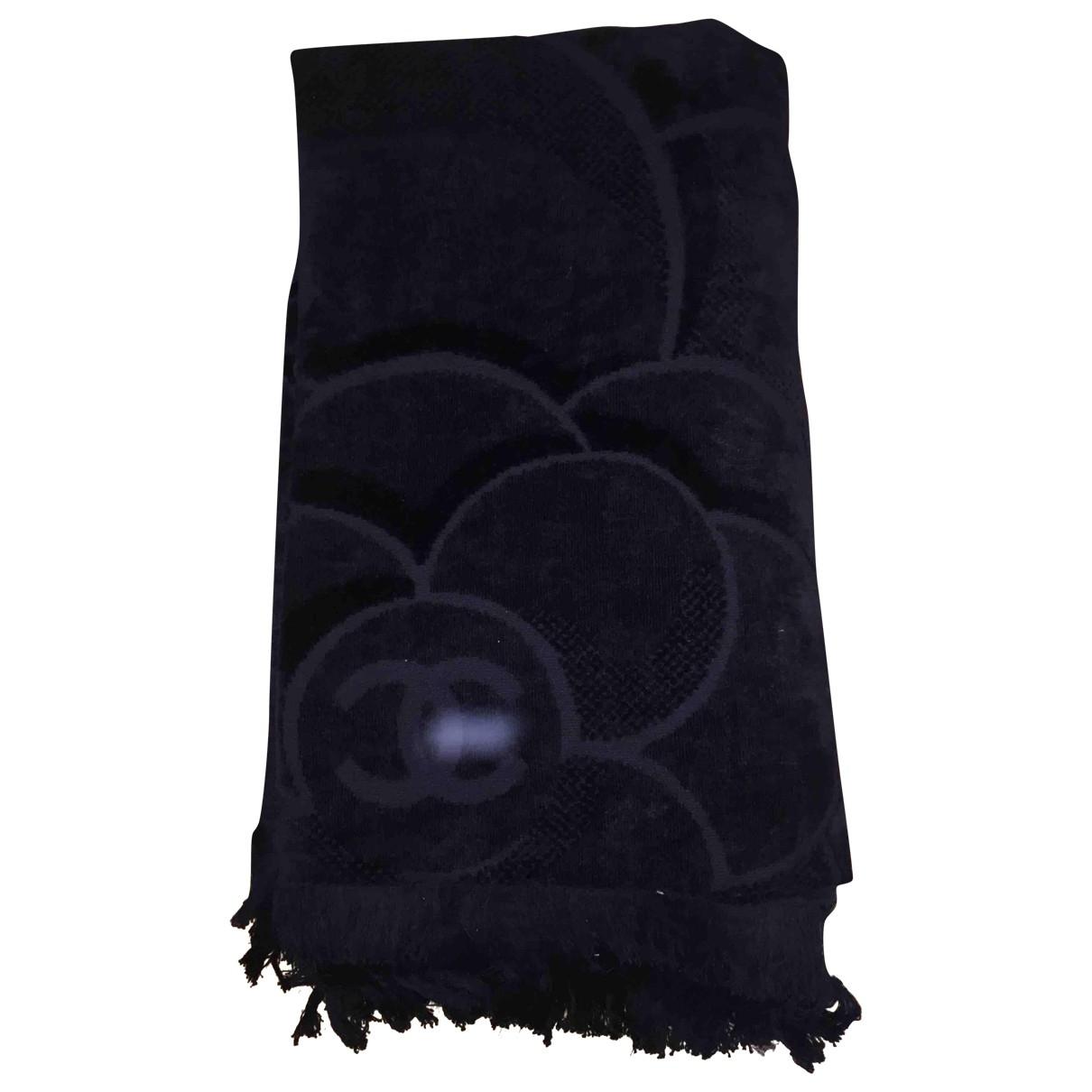 Chanel - Linge de maison   pour lifestyle en coton - noir