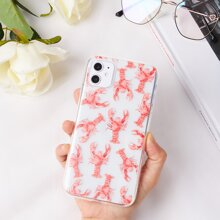 Lobster Clear iPhone Case