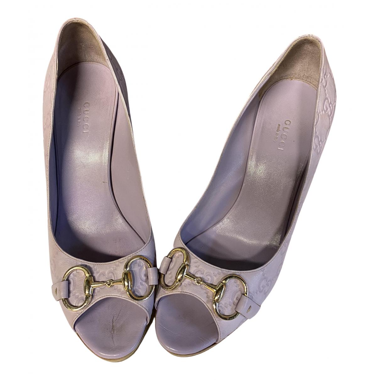 Gucci - Escarpins   pour femme en cuir