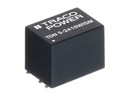 TRACOPOWER TDN 5WISM 5W Isolated DC-DC Converter Surface Mount, Voltage in 9 → 36 V dc, Voltage out ±12V dc