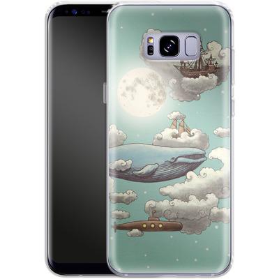 Samsung Galaxy S8 Plus Silikon Handyhuelle - Ocean Meets Sky von Terry Fan