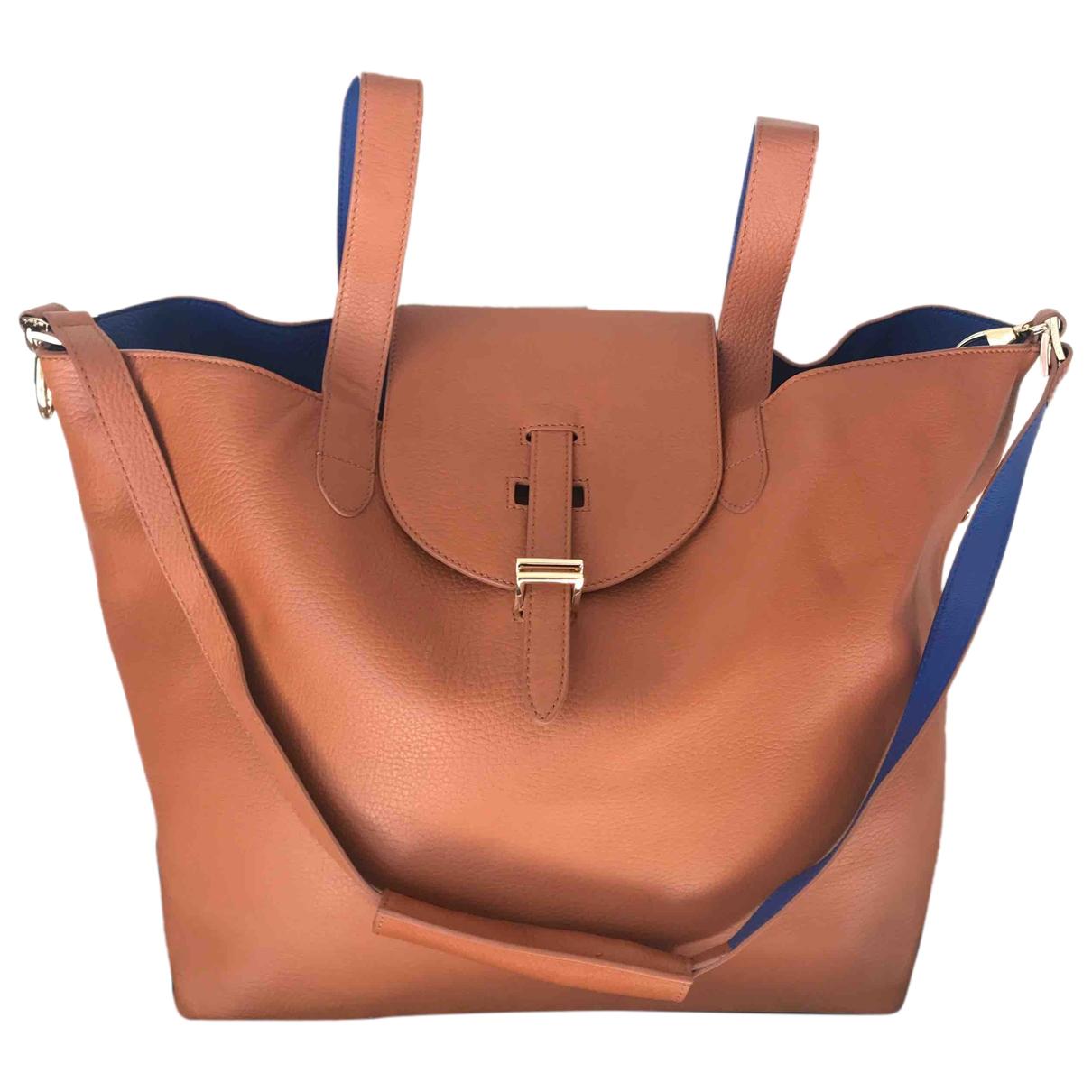 Meli Melo \N Handtasche in  Bunt Leder