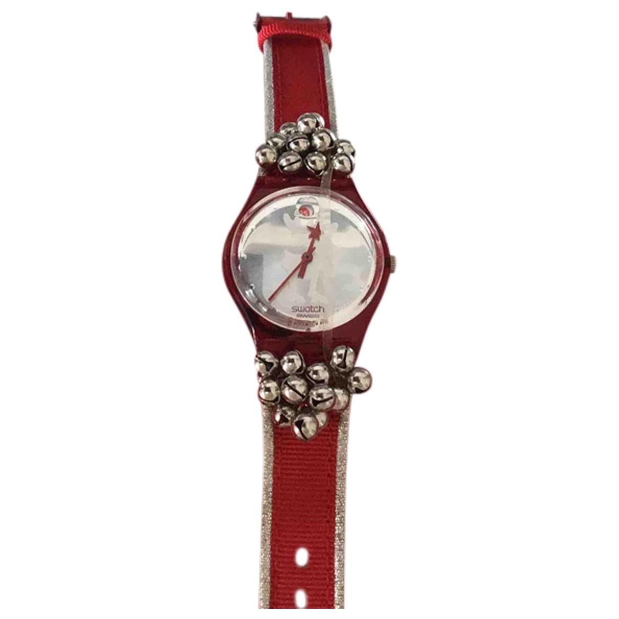 Swatch \N Uhr Rot