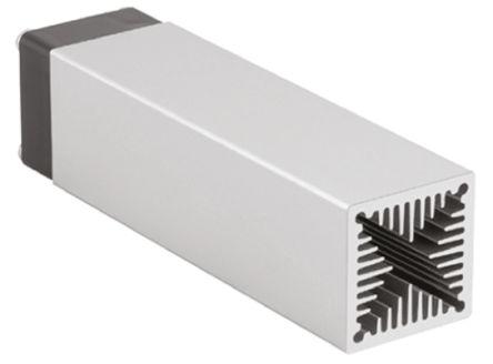 Fischer Elektronik Heatsink, Universal Rectangular Alu with fan, 1.4K/W, 50 x 30 x 30mm, PCB Mount, Natural