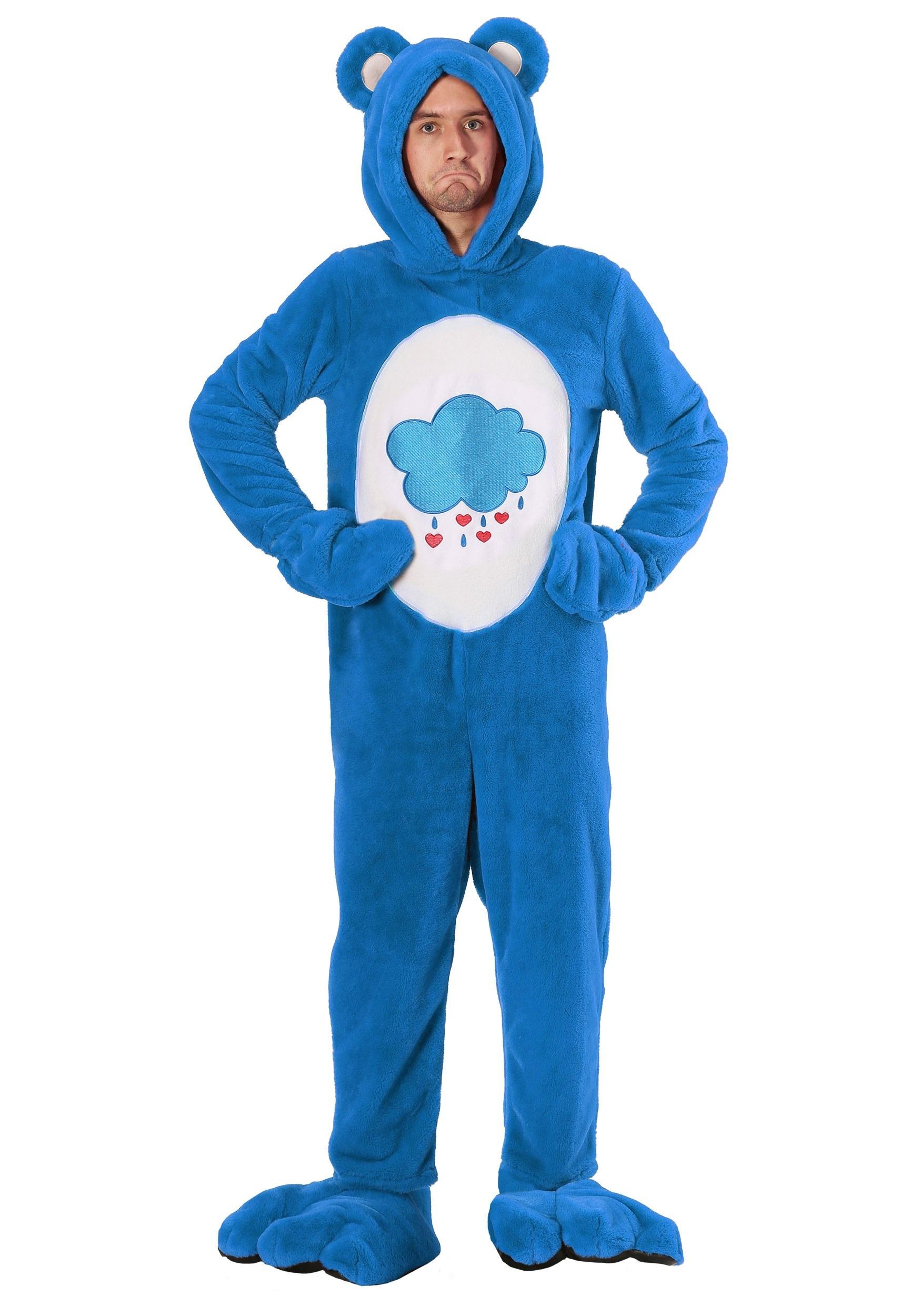 Plus Size: Care Bears Deluxe Grumpy Bear Costume