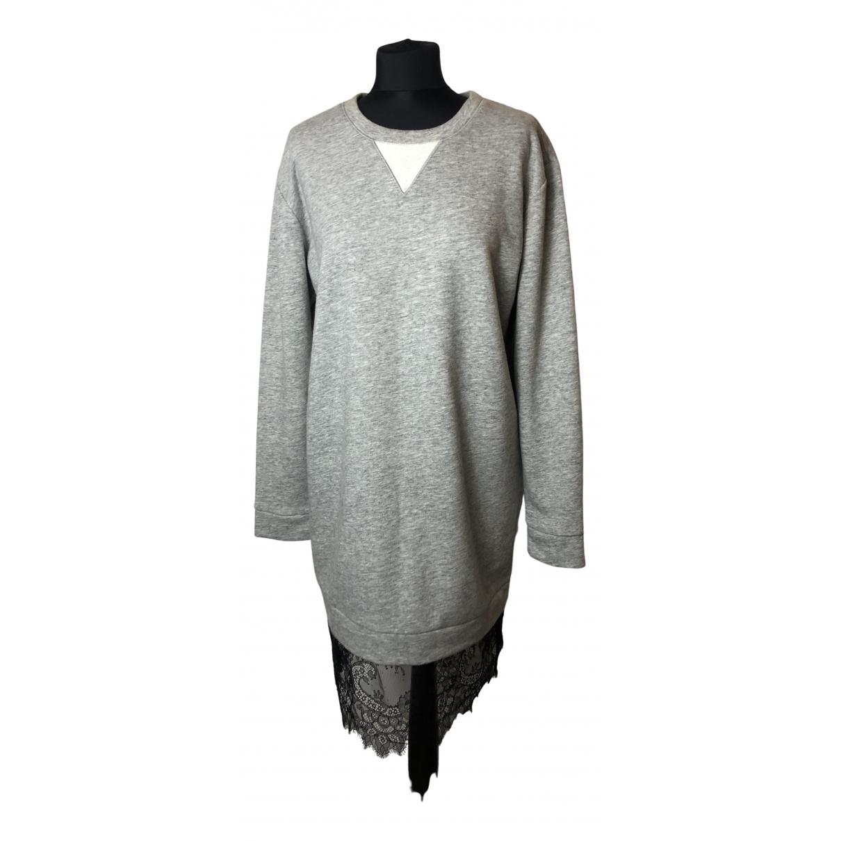 Bcbg Max Azria \N Grey Cotton dress for Women M International