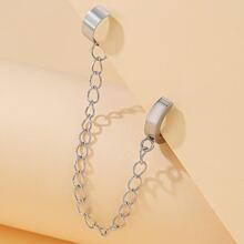Chain Decor Ear Climber