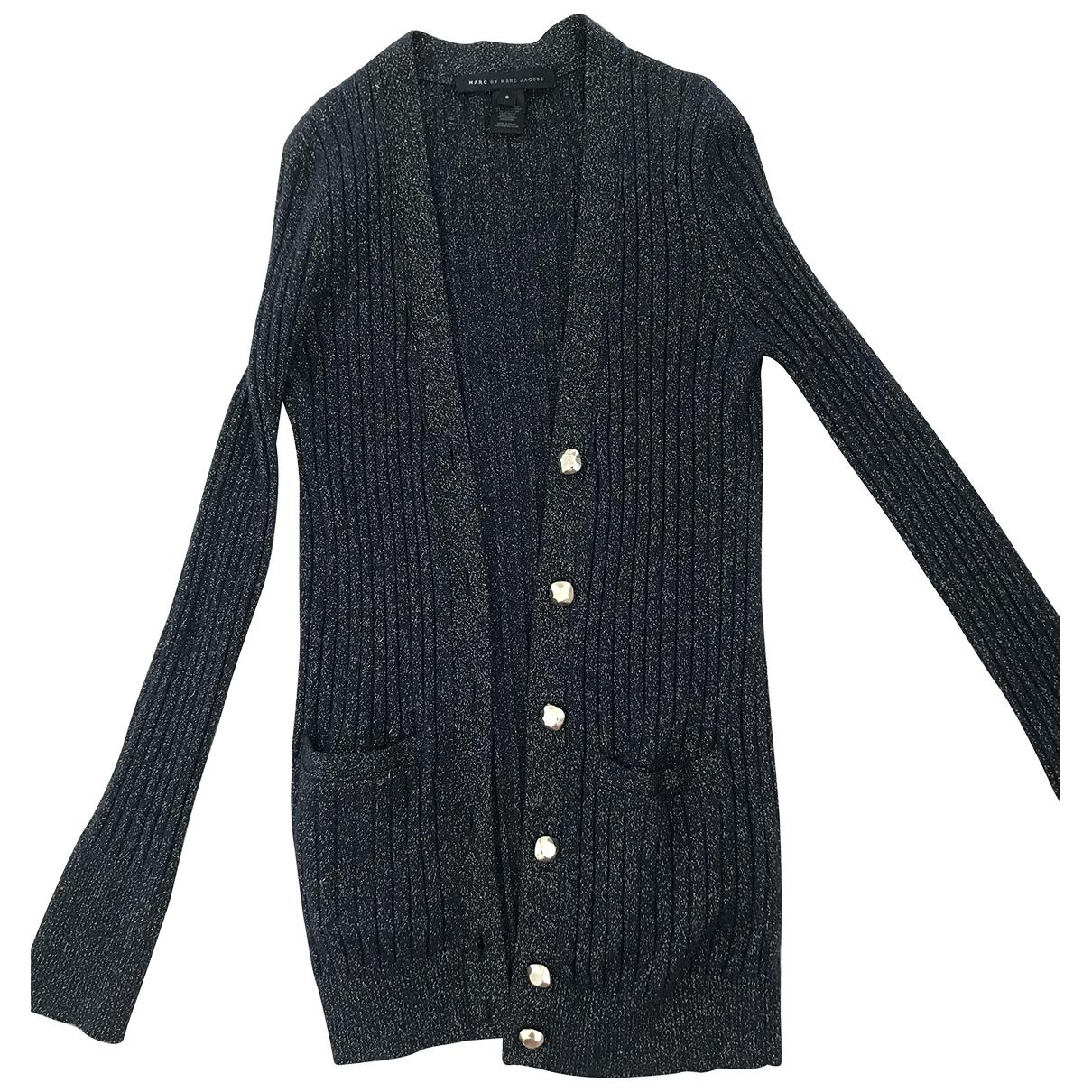 Marc By Marc Jacobs \N Navy Wool Knitwear for Women 36 FR