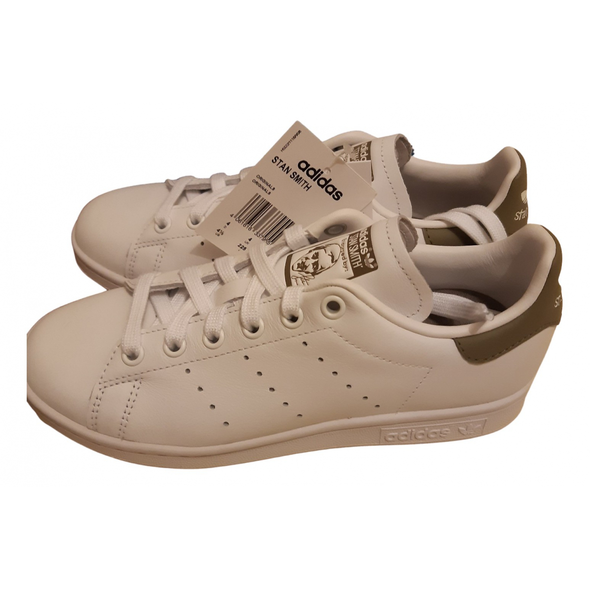 Adidas - Baskets Stan Smith pour femme en cuir - blanc