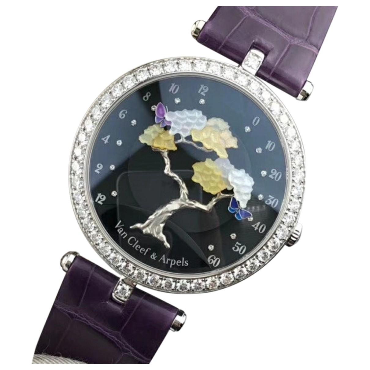 Reloj de Oro blanco Van Cleef & Arpels