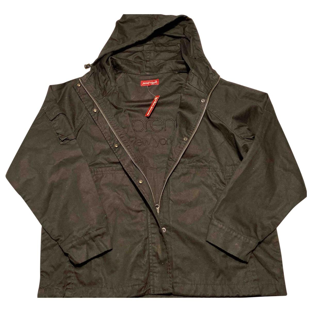 Supreme \N Black Cotton jacket  for Men S International