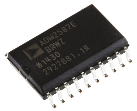 Analog Devices ADM2587EBRWZ, Line Transceiver, ISO 8482:1987-E/ RS-422/ RS-485/ RS-485-A-98, 3.3 V, 5 V, 20-Pin SOIC W