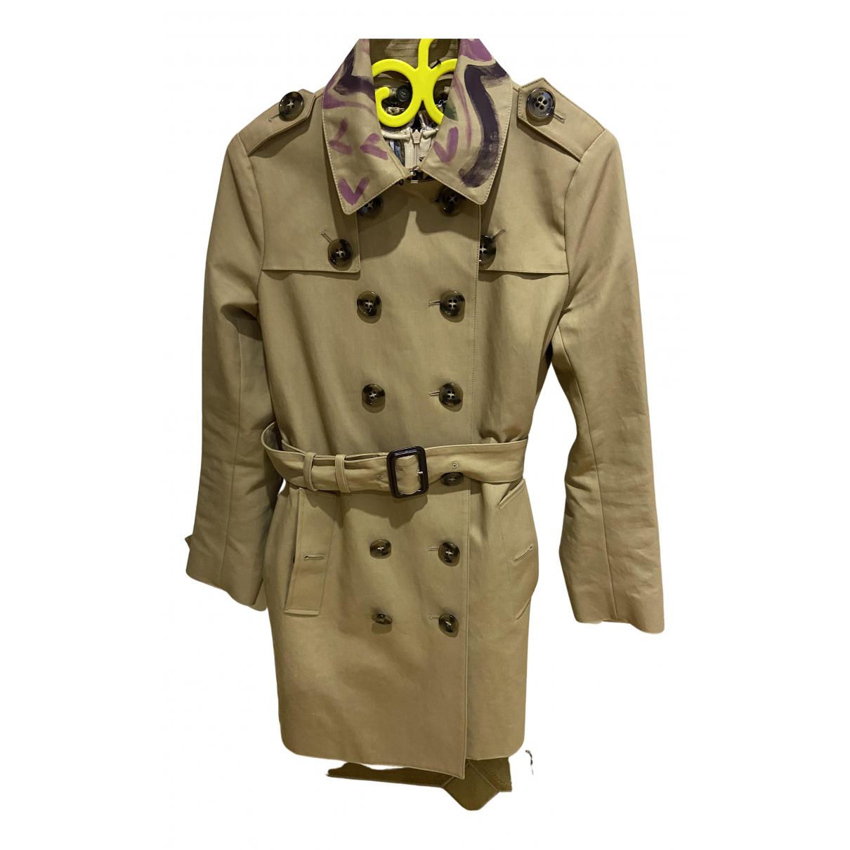 Burberry N Beige Cotton Trench coat for Women 40 IT