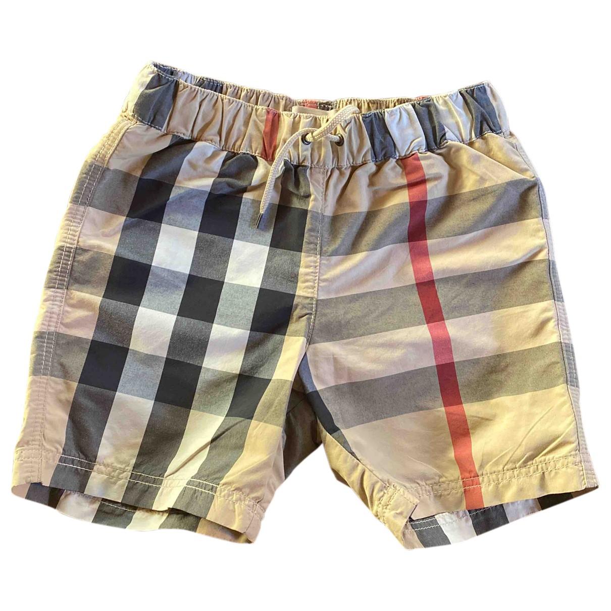 Pantalon corto Burberry