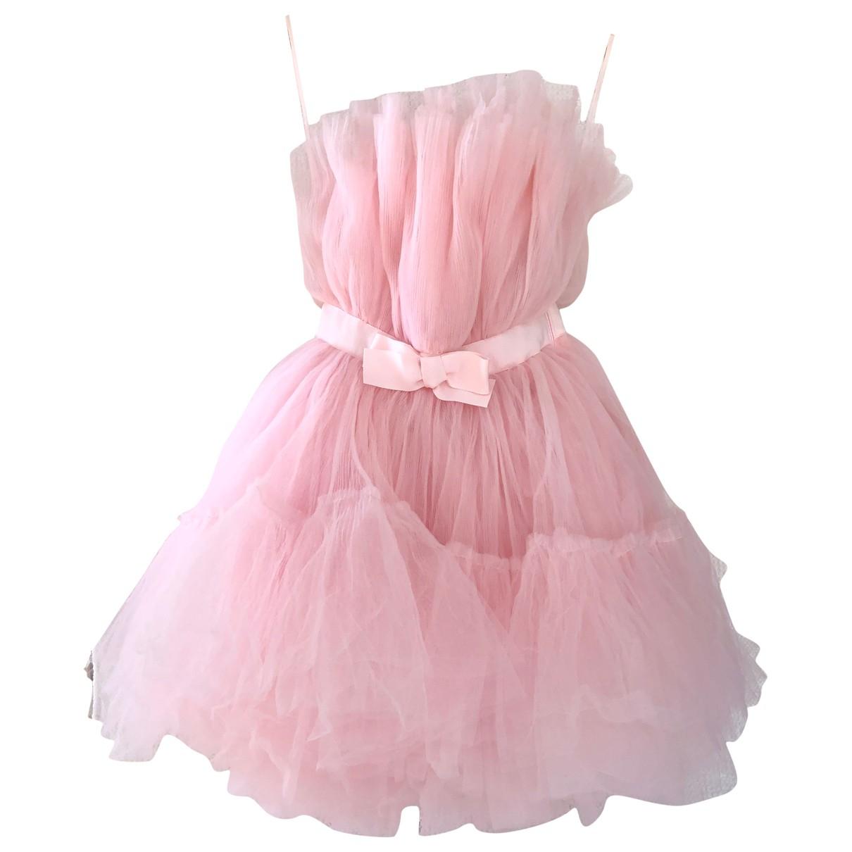Giambattista Valli X H&m - Robe   pour femme - rose