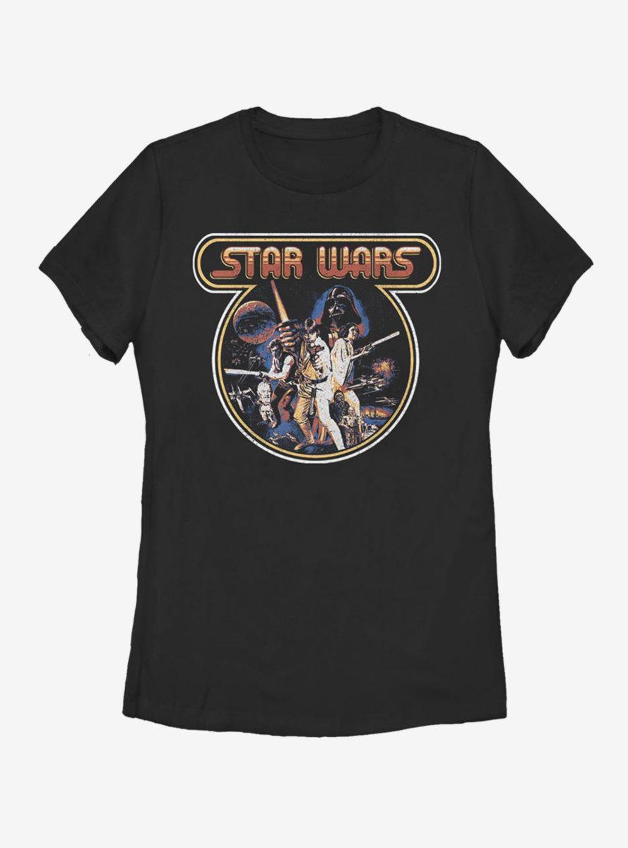 Star Wars Vintage Pop Womens T-Shirt