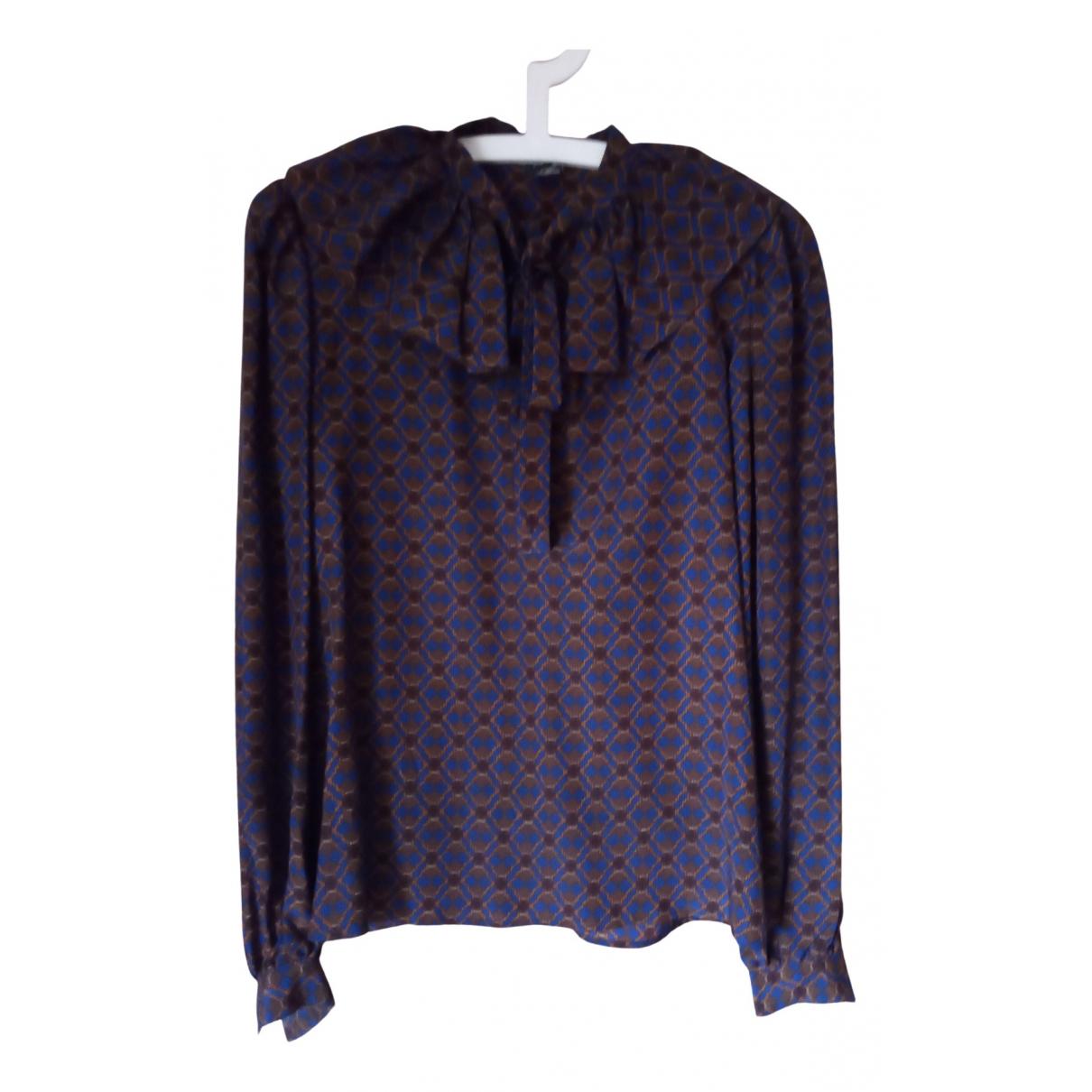 Emanuel Ungaro - Top   pour femme en soie - violet