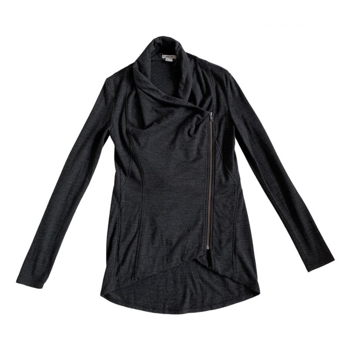 Helmut Lang - Veste   pour femme en laine - noir