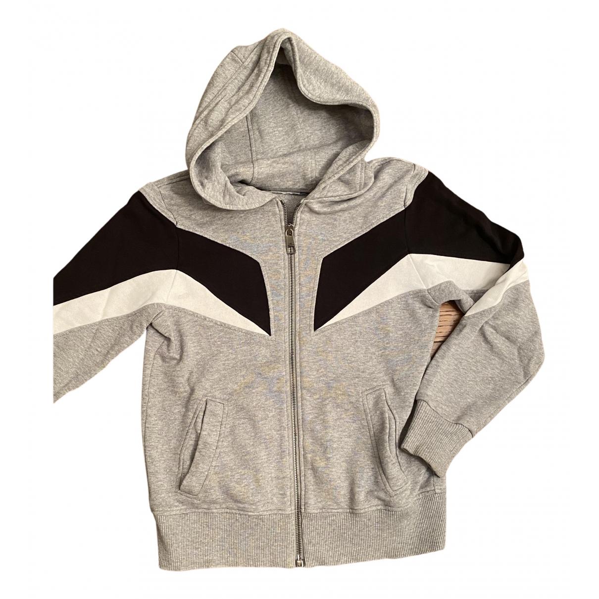 Neil Barrett - Pull   pour enfant en coton - gris
